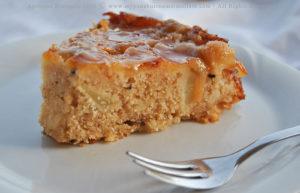 Toffee Apple & Cardamom Upside Down Cake