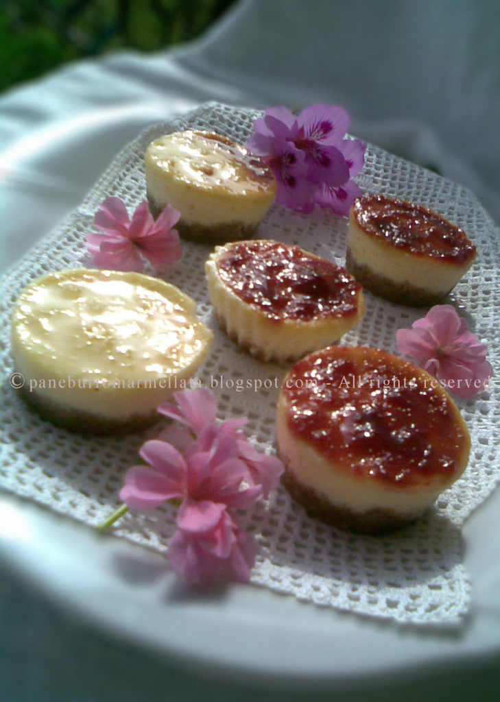 cheesecake finger food