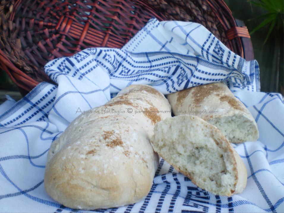 pane al prezzemolo e basilico aromatizzato al sale di sedano