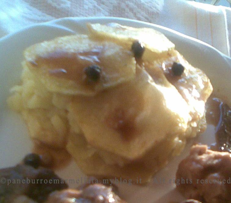 tortino patate mele