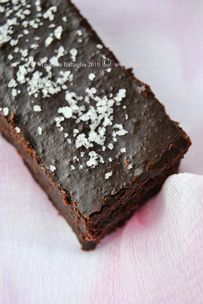 brownie au chocolate à la fleur de sel - alto