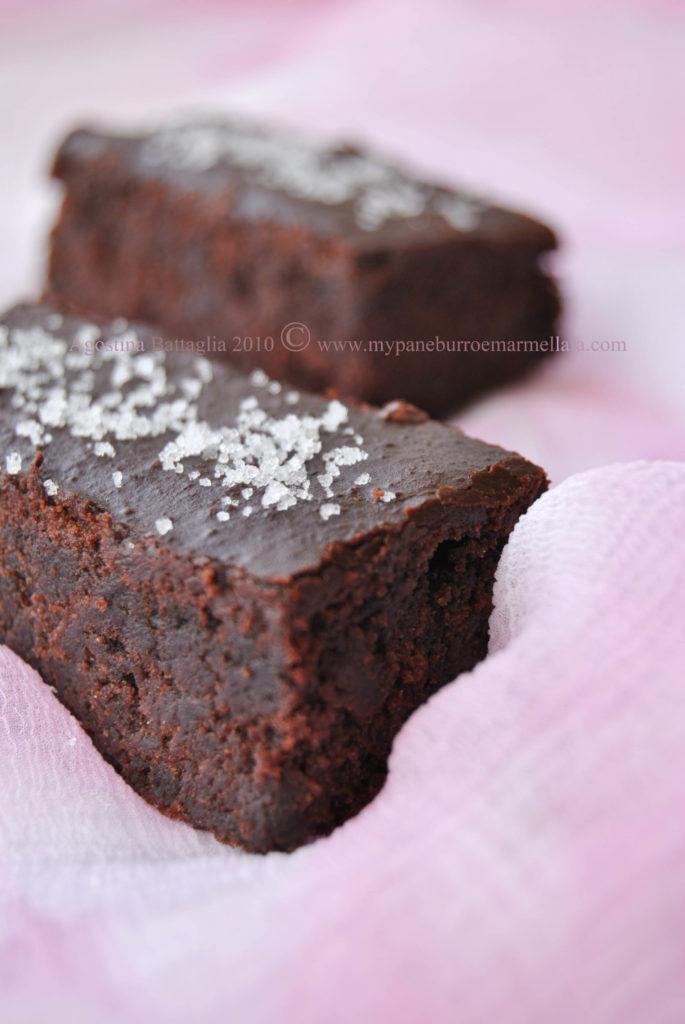 brownie au chocolate à la fleur de sel - lato