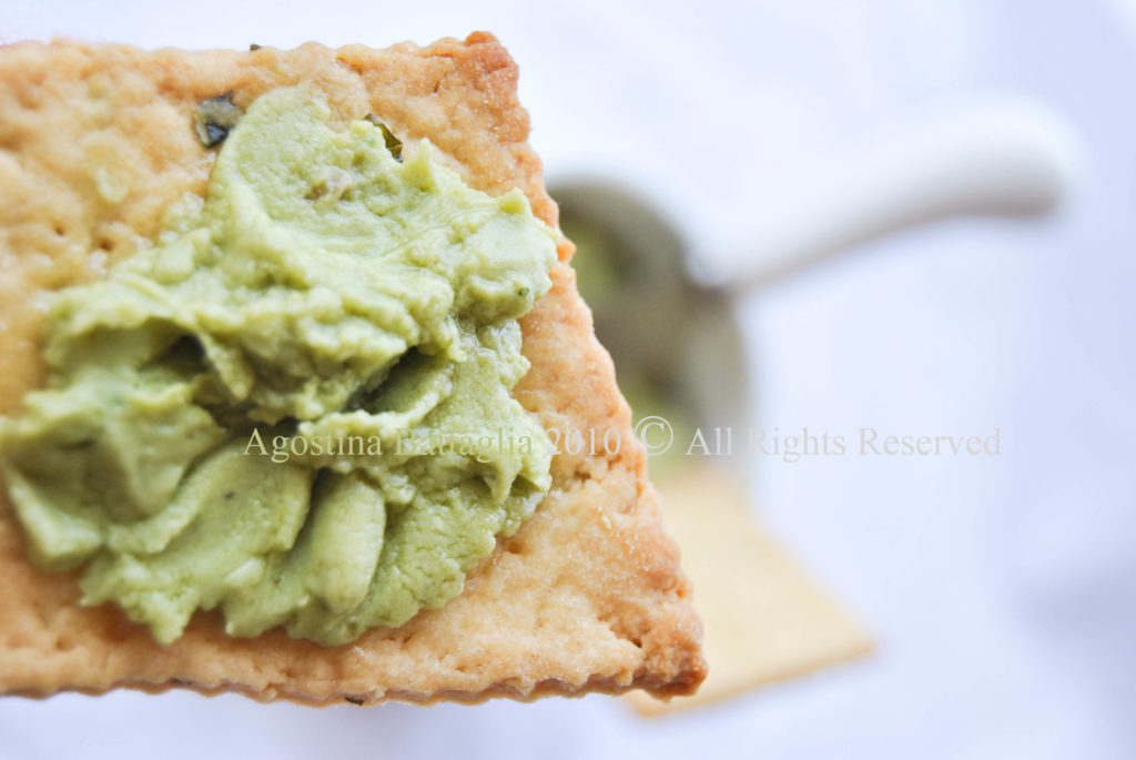 crackers menta