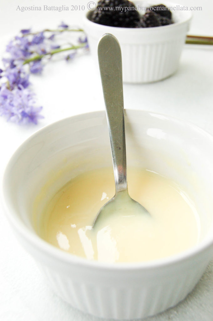 crema inglese - custard sauce (microonde-microwawe)