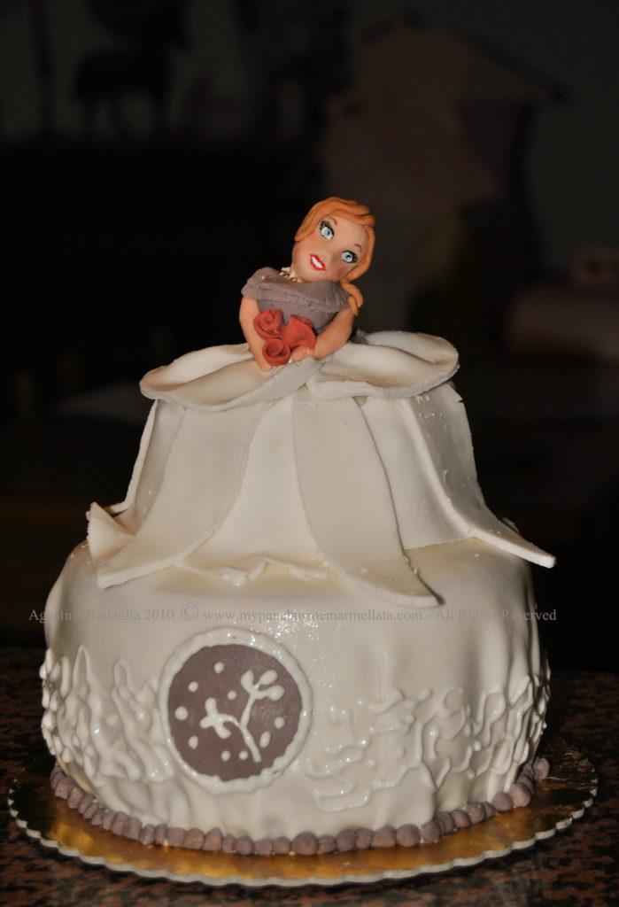 torta dama 800
