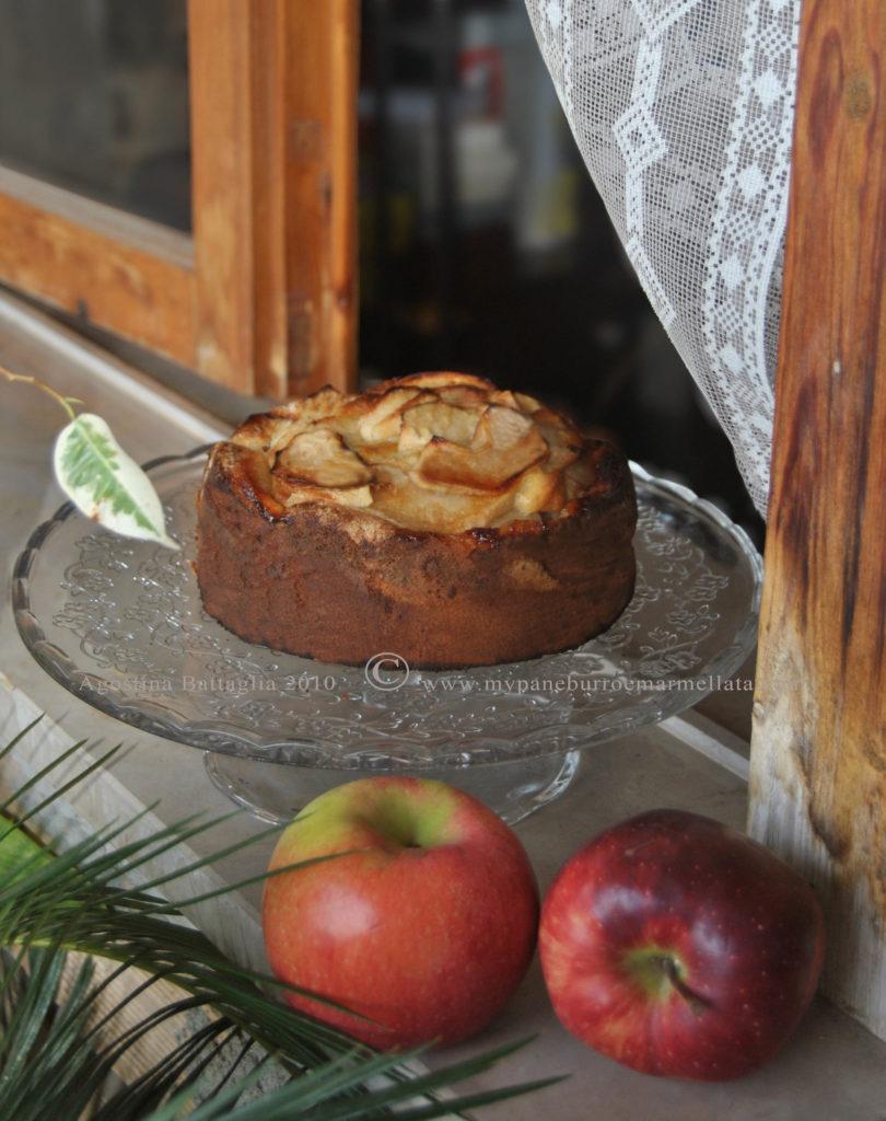 torta di mele di nonna papera - davanzale