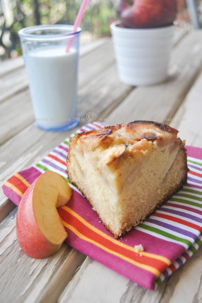 torta di mele di nonna papera - fetta