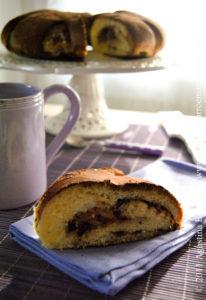 Coffee Cake Meringata Ripiena: Cioccolato e Spezie per una Meravigliosa Brioche! – Yeasted Meringue Coffee Cake  for DB Challenge!