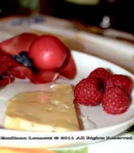 antipasto con formaggio Bettelmatt