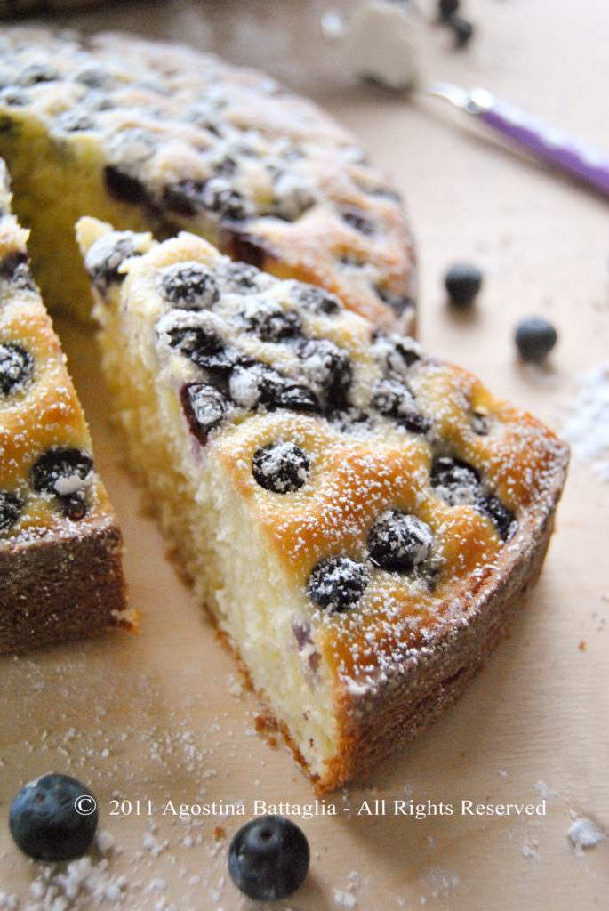 torta ricotta e mirtilli fetta1