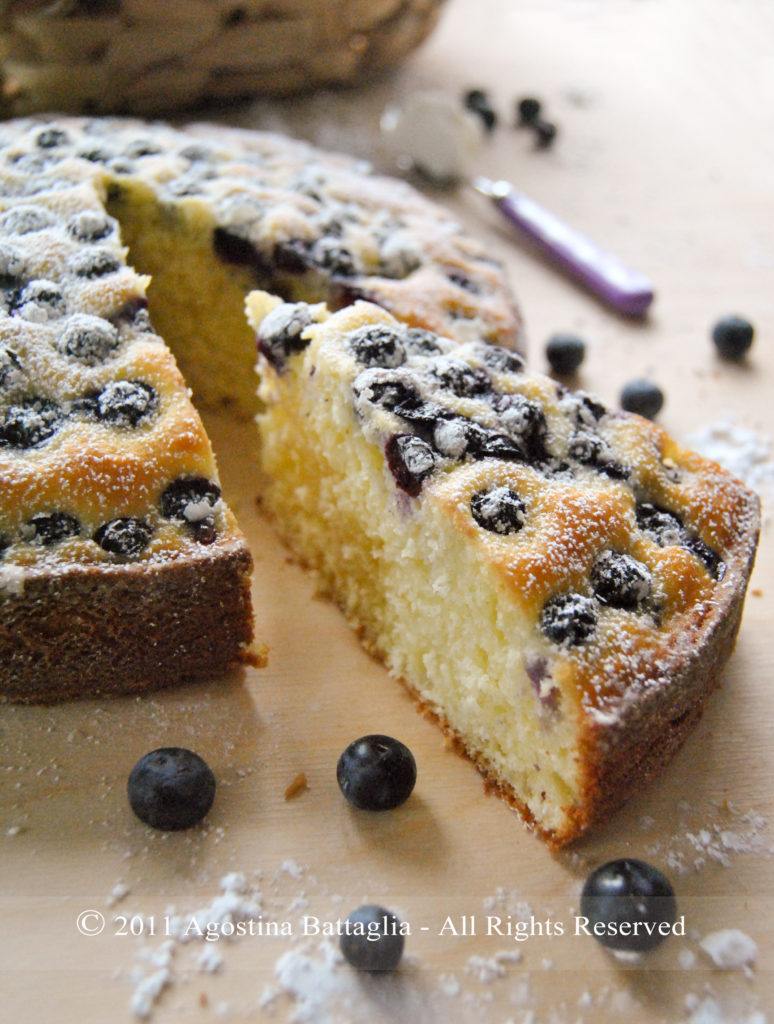 torta ricotta e mirtilli fetta3