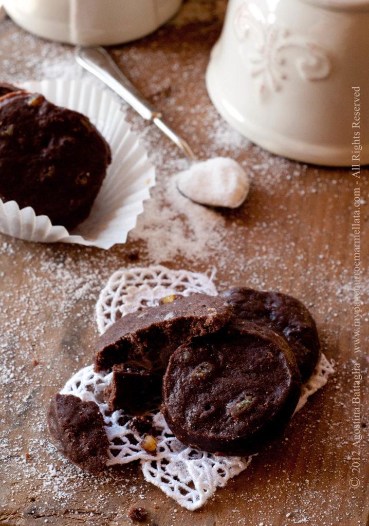 shortbread cioccolato ed arancia part
