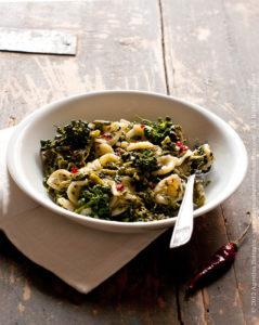 Orecchiette e broccoletti (o cime di rapa)…un piatto da Re!