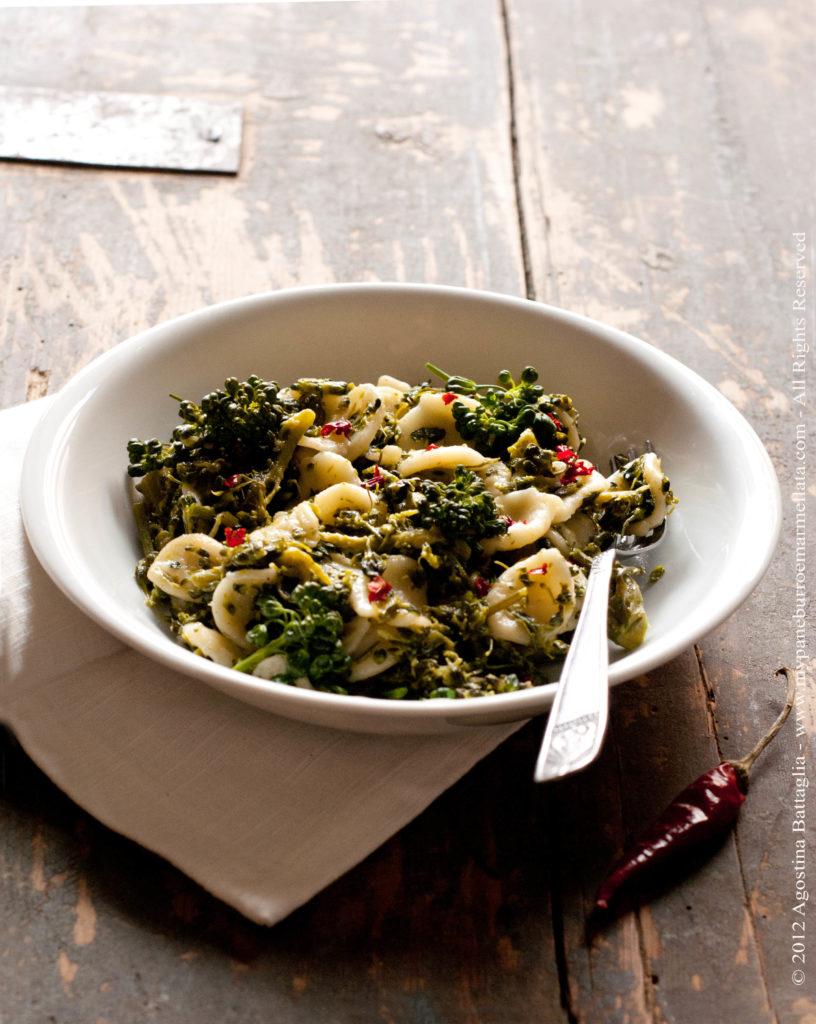 orecchiette e broccoletti 1