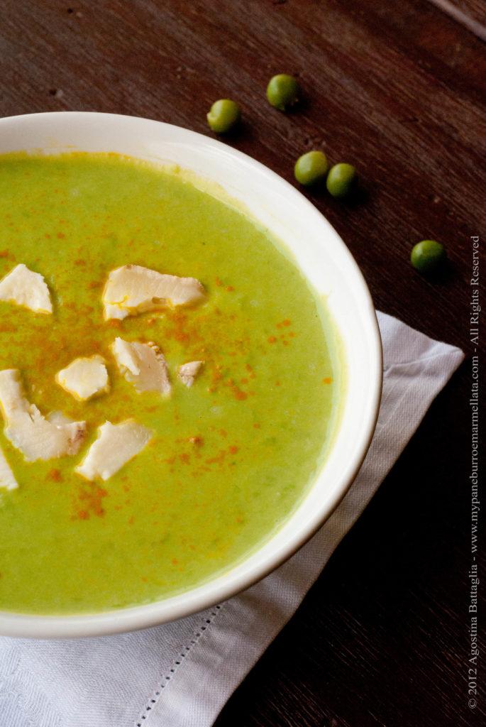 zuppa di piselli e stracchino2