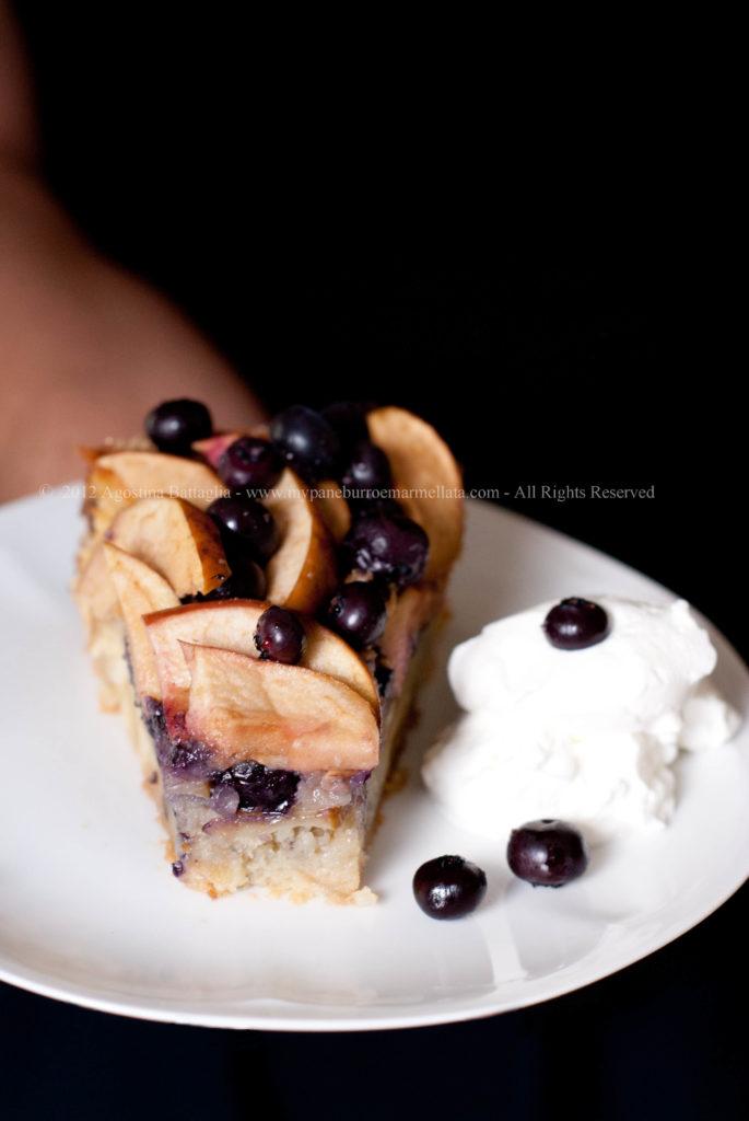 torta di mele della nonna di Donna Hay fetta