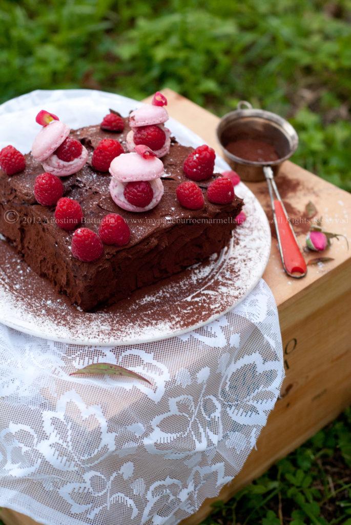 truffle cake e macarons 2