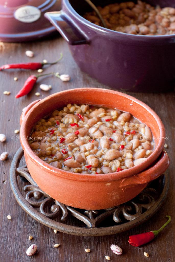 zuppa di fagioli e orzo cocotte sf