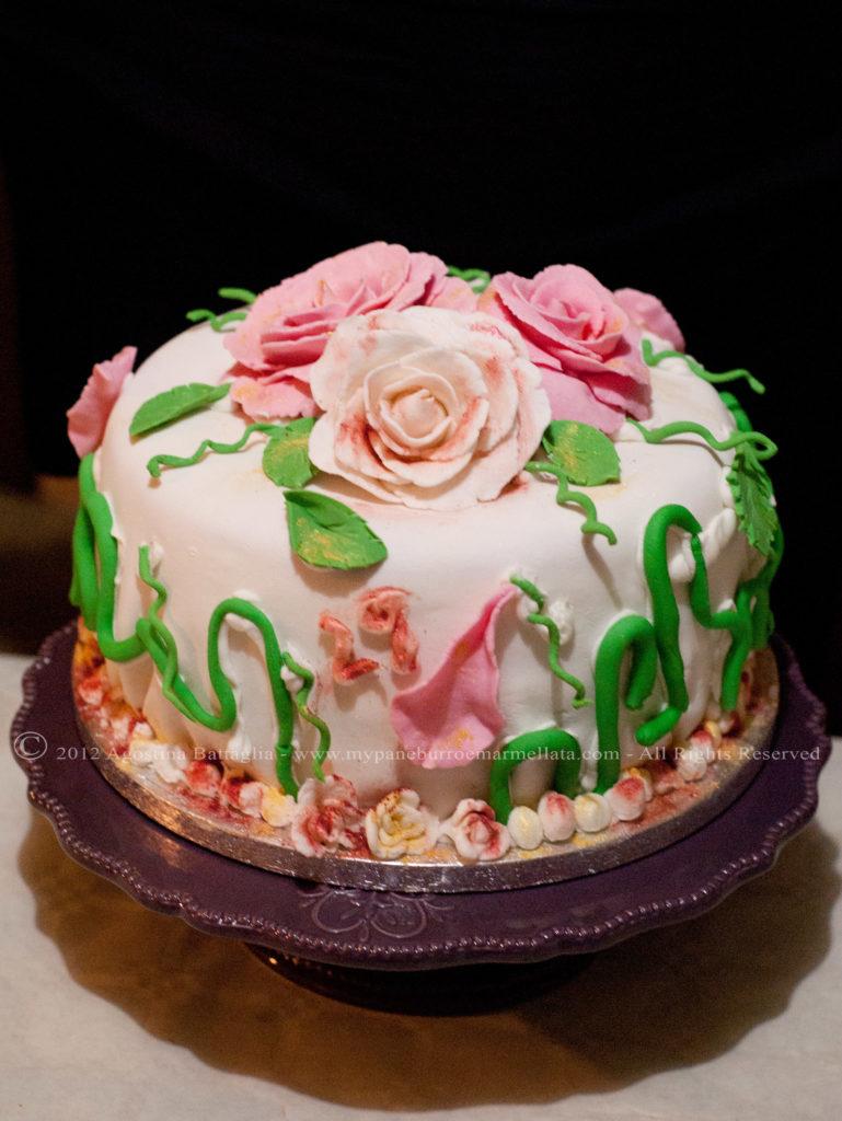 torta rose arcobalenoAg