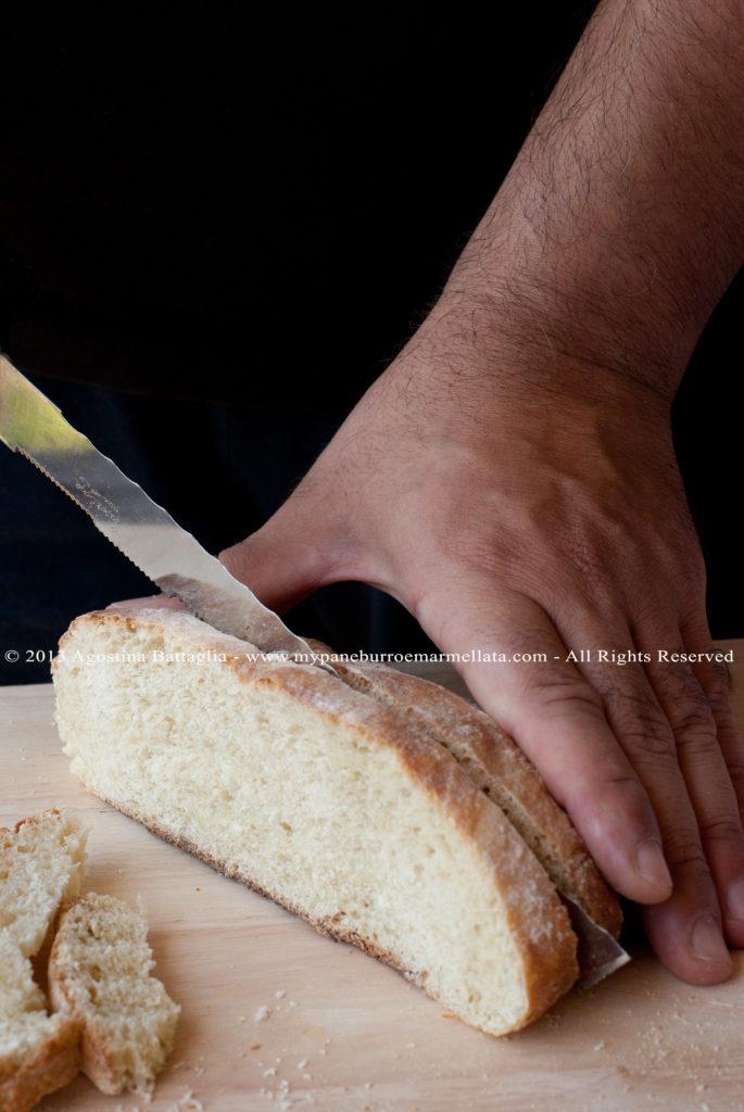 DSC_8241 pane di kamut fetta