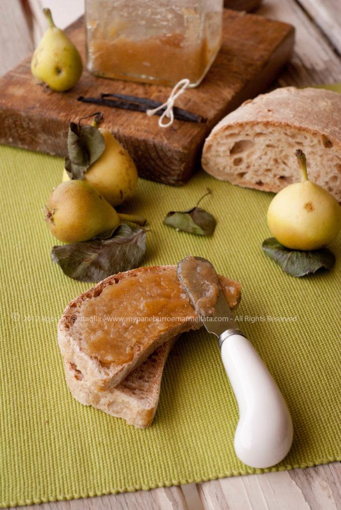 confettura pere vaniglia 1