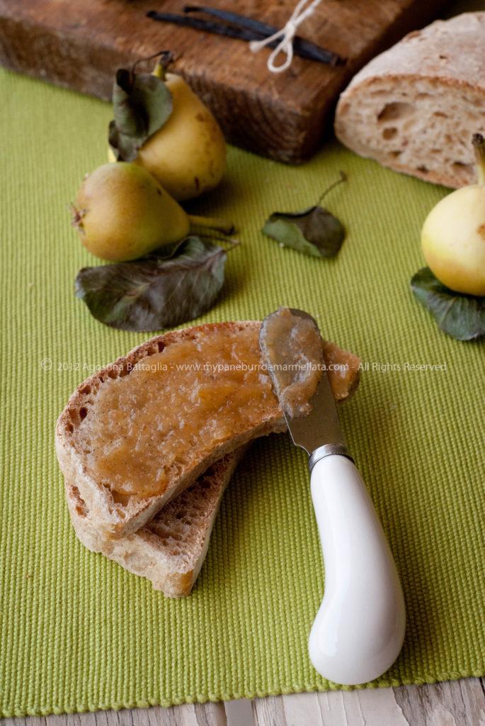 confettura pere vaniglia 2