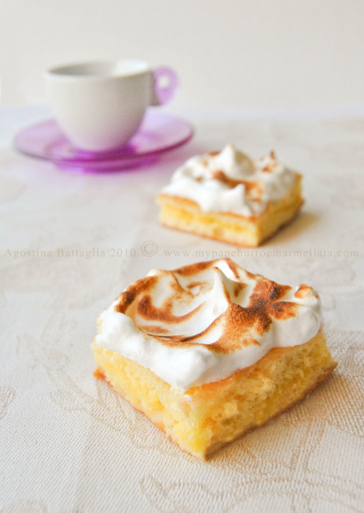 lemon meringue chiffon cakes (petite pâtisserie)