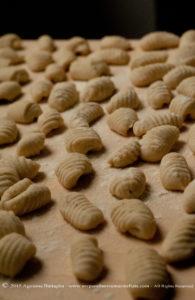 Gnocchi di patate ai funghi porcini e zucca