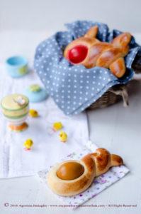 Gute o Sgute calabresi, le brioche di Pasqua