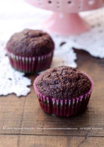 Muffins al cioccolato di Starbucks