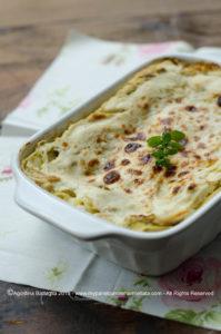 Lasagne al radicchio bianco, ricotta e curry | leggerezza e bontà nel piatto
