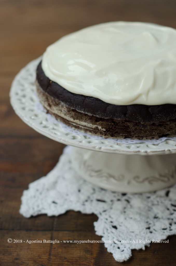 Guinness cake senza lattosio