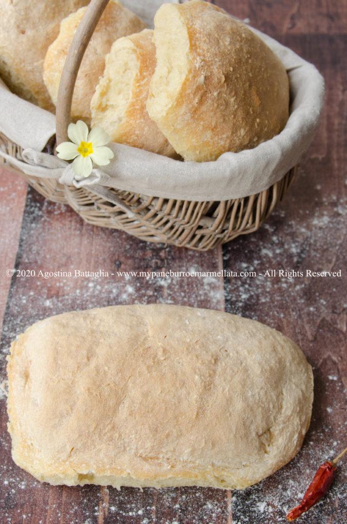 il pane fatto in casa da papà