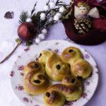 Ricetta Lussekatter briochine dolci allo zafferano
