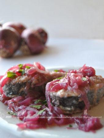 alalunga con cipollata ricetta calabrese cipolle pesce